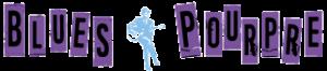 logo blues pourpre