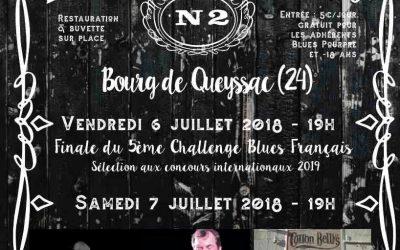 """L'affiche """"Blues in Queyssac"""" 2018"""