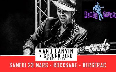 Manu Lanvin le 23 mars au Rocksane